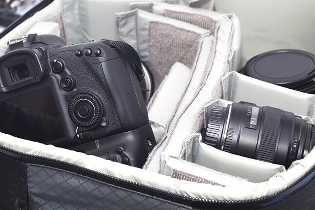 travel videographer equipment tips camera bag - 5 Travel Videographer Equipment Tips For You!